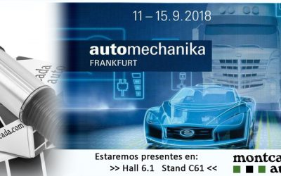 Find us at Automechanika Frankfurt 2018