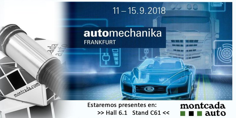 Presentes en Automechanika Frankfurt 2018