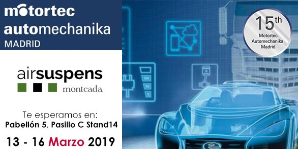 Presentes en Automechanika Madrid 2019
